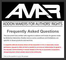 Addon Makers Rights
