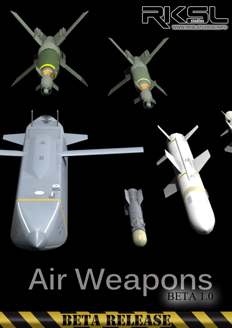 RKSL Studios Air Weapons Pack BETA 1.0