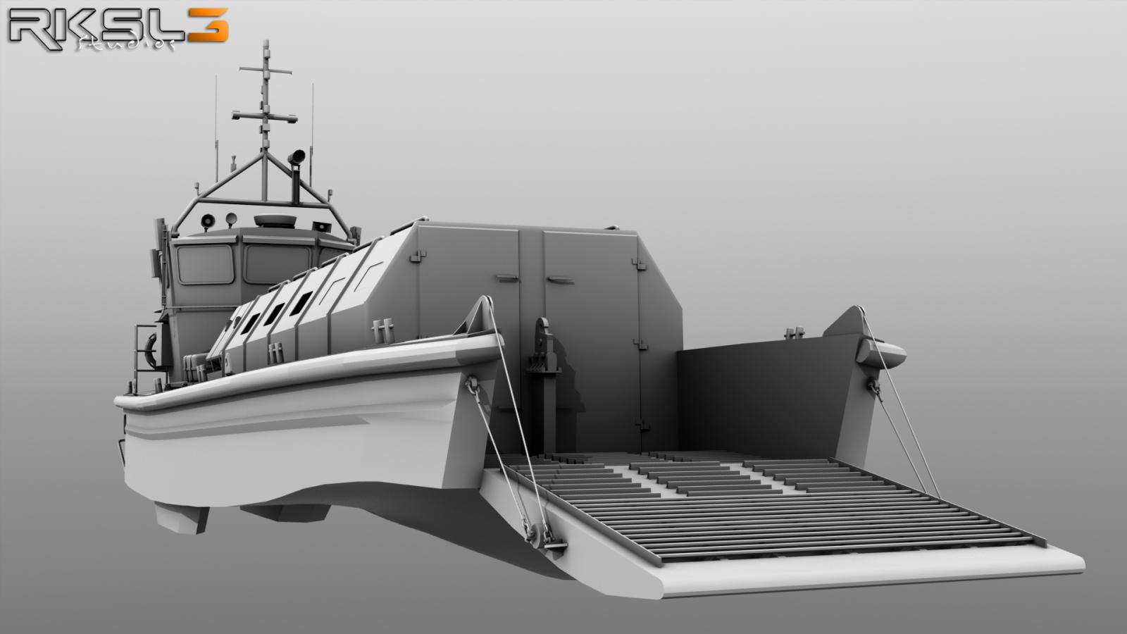 Landing Craft Vehicle/Personnel Mk5