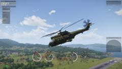 Puma HC1 over Tanoa